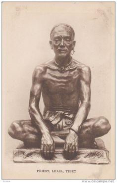 Priest , LHASA , Tibet , 1910s