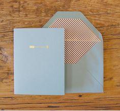 arrow notecard set via PH Design Shop $24