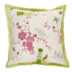 Apple Blossom Cushion from Designers Guild