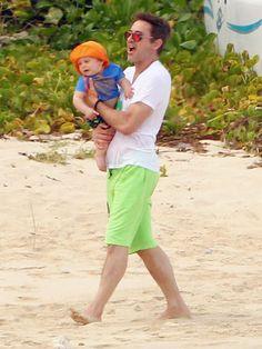 EXTON DOWNEY photo   Robert Downey Jr. turns 1 on Feb 7, #celebritybabies, #robertdowney,