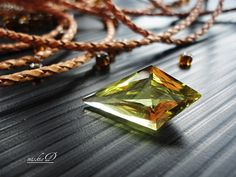 Beautifully cut with amazing facets, this stone is natural, untreated, unheated...none of any kind of treatment. It is flawless and intoxicating to look, mesmerizing to the touch...it will just blows your mind away!!