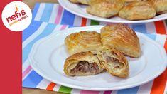 Samsa Böreği Tarifi - El Açması Kat Kat Kıymalı Börek Yapımı - YouTube