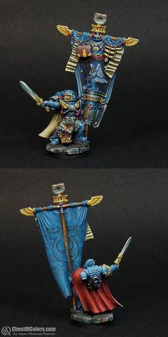 Calgar's Honor Guard Standard Bearer