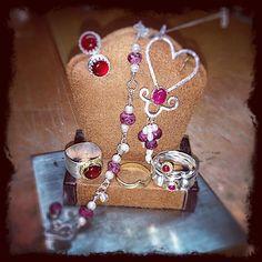 The days come and go Love remains!#jasprcraggjewelry #valentines2017 #madeindc #acreativedc #logancircle #washingtondc #argentium #ruby #carnelian #935 #18ktgold