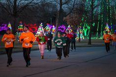 The Christine Ann Domestic Abuse Services 11th annual Race for the Light! Oshkosh, WI. Happy Holidays!