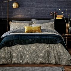 Modern Tribal Print Bedding | Ziba Bed Linen at Bedeck 1951