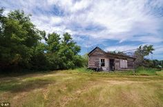 Relic: This abandoned house photographed by Troy Larson for the book 'Ghosts of North Dakota Volume 2' is located near Barton, North Dakota,...