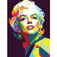 New Pop Art Marilyn Monroe Pictures Ideas Pop Art Marilyn, Arte Pop, Pop Art Pictures, Marilyn Monroe Pop Art, Sketch Manga, Frida Art, Pop Art Portraits, Art Anime, Abstract Portrait
