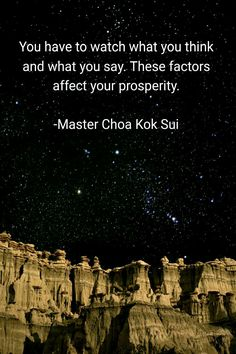 Grand Master Choa Kok Sui Quotes