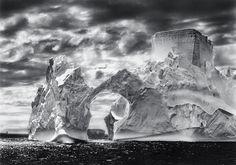 Sebastião Salgado - Iceberg Between the Paulet Island and the Shetland Islands (Antarctica, 2005).