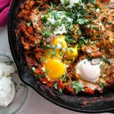 Shakshuka Recipes, Healthy Comfort Food, Comfort Foods, Chorizo, Food Photo, Cooking Tips, Breakfast Recipes, Breakfast Casserole, Eating Clean