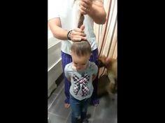 Manual para pais - Como pentear o cabelo da sua filhinha - YouTube