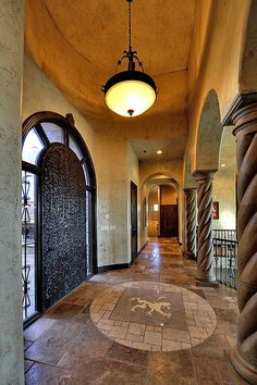 Grand foyer, just beautiful