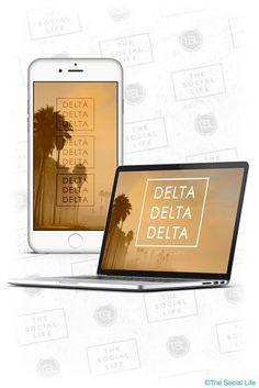 Tri Delta Wallpaper! #TriDelta #TSL