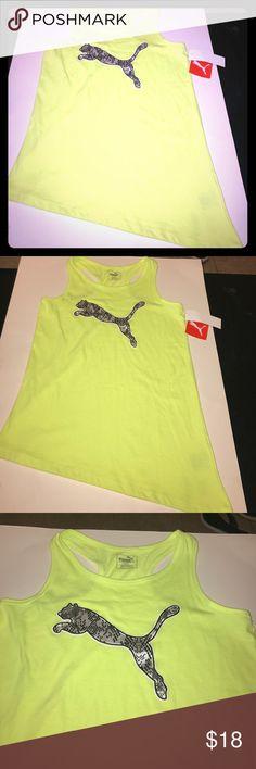 Puma Tank New with tags, size XL Puma Shirts & Tops Tank Tops