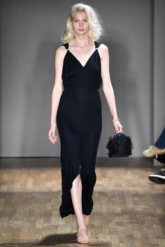 Jenny Packham Spring 2015. Love the simple silhouette of this one.