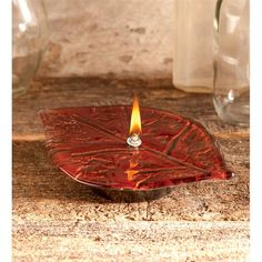 Red Leaf Oil Candle ... $49.95