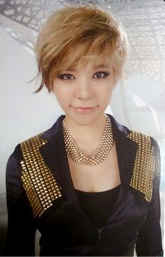 Sunny ♥ My favorite member from Girls Generation!! I even got my hair styled after her, she's so pretty!