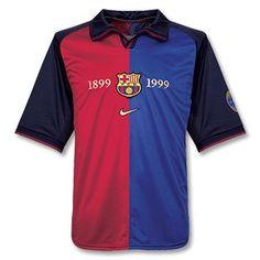 Centenari FC Barcelona 1999-2000 Barcelona Jerseys, Fc Barcelona, Soccer Shirts, Football Jerseys, Soccer Players, Soccer Teams, Club, Nike, Best Games