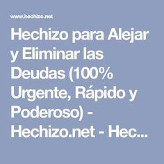 Hechizo para Alejar y Eliminar las Deudas (100% Urgente, Rápido y Poderoso) - Hechizo.net - Hechizos Fáciles y Efectivos