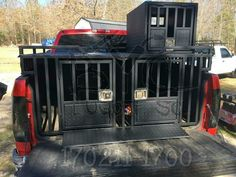 Multiple Dog Dog Boxes Let Them Ride In Style Truck