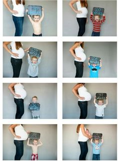Second baby announcement idea Second Baby, 2nd Baby, Baby Baby, Baby Newborn, Maternity Pictures, Baby Pictures, Pregnancy Pictures, Weekly Pregnancy Photos, Pregnancy Progress Pictures
