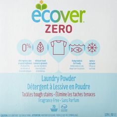 Ecover Powder Zero Laundry Detergent - Clothes making you itchy and red? Try one of these dye-free, fragrance-free detergents.
