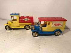 Readers Digest Collectible 1980's Diecast And Plastic Toy Trucks  #Unbranded