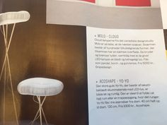 Cloud lamps in the Danish interior magasin Bo Bedre. The beautiful acoustic cloud lamps in table and floor model have now been in Bo Bedre. The lamps are designed by Stephanie Forsythe and Tod MacAllen from the Canadian design studio molo design.