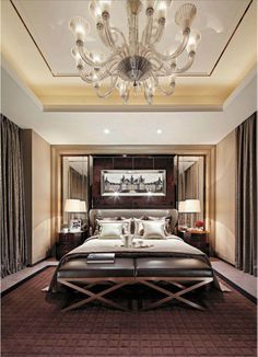 Warmth:: Wrapped in luxury: Beautiful bedroom