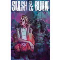 My cover for Vertigo's Slash and Burn 4 by Si Spencer, Max Dunbar & Ande Parks.