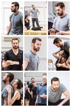 The Old Vic's new production of 'The Crucible' in rehearsals -- The Armitage Collage!