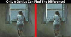 To find the difference between two pictures can be a really hard task. But on the pictures, you are about to see it'll be extremely hard and only a genius will be able to do it. Can you? source #1 Hint: The solution might be out of the central piece of this painting. While it is a piece of beautiful art, try to think outside of the box to solve it. If you still can't find it, try to inspect the...