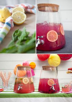 Infused Lemonade: Three Ways | Oh Happy Day!