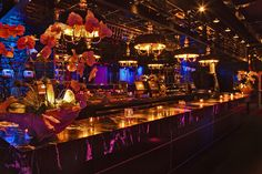 Miami Beach's Best Nightclubs: Mokai: Mokai's top-of-the-line sound and lighting systems were custom designed to accommodate both casual conversations and full scale productions. Created to compliment Mokai's intimate setting , these systems accommodate a myriad of A/V needs...