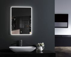LED Lichtspiegel Badspiegel 2073 - Breite wählbar günstig online kaufen