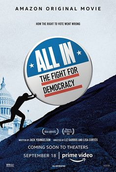 A great documentary about the fight for the vote and the struggle against voter suppression that still happens in the United States today. Joanna Scanlan, Coming Soon To Theaters, Carl Reiner, Ocean Pollution, Right To Vote, Internet Movies, World Peace, Guy Names, Books
