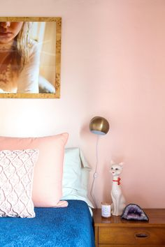 House Tour: A Pink-Centric '70s-Style California Home | Apartment Therapy