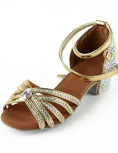 ZZYY-Damen Kunstleder / Strass Obere Ankle Strap Latin / Salsa Dance Performance Schuhe (Weitere Farben) , 34 - http://on-line-kaufen.de/zzyy/34-eu-zzyy-damen-kunstleder-strass-obere-ankle