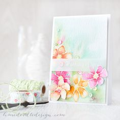 WOW Such a Gorgeous card created by Debby Hughes using brand New Simon Says Stamp from the Hop To It Release.