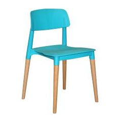 AUD$149 stackable dining chair option comes in black and orange