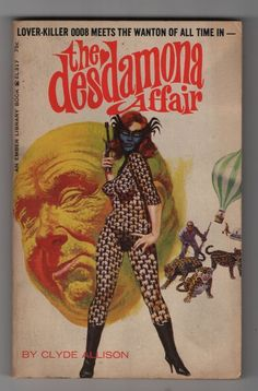 The Desdamona Affair by  Clyde Allison Very Scarce Vintage Paperback collectible