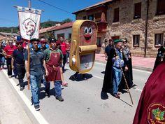 Promoción de Santoña y de su producto estrella la anchoa en el VIII encuentro Cántabro Astur en Valderredible.