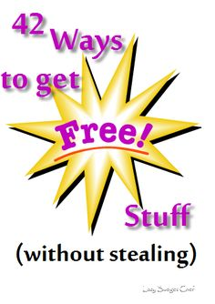 42 ways to get free stuff without stealing. Money saving tips and free habits that save money Ways To Save Money, Money Saving Tips, Money Tips, Genealogy Forms, Free Genealogy, Genealogy Humor, Genealogy Sites, Family Genealogy, Teaching Materials