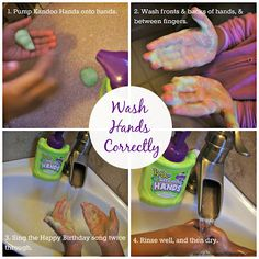 Good hand washing helps prevent germs, which can lead to the cold and flu.