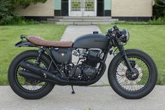 76 CB750 Black by Powdermonkees