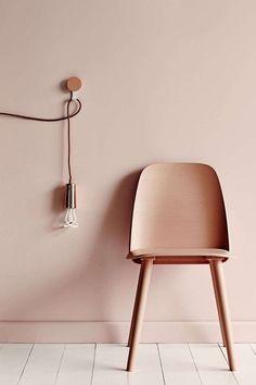 Abbinare i colori delle pareti - Rosa cipria
