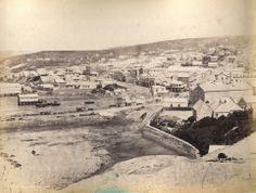 Dunedin from Bell Hill 1863 Dunedin New Zealand, Long Gone, Gold Rush, Genealogy, Mud, Paris Skyline, The Past, Memories, Travel