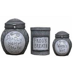 Nightmare Before Christmas Cookie Jars