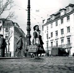 by Gerárd Castello-Lopes Photo P, City Photo, Interesting Buildings, Henri Cartier Bresson, Lisbon Portugal, Old Postcards, Portuguese, The Past, Coast